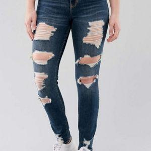 Hollister Curvy Ultra High Rise Super Skinny Jean